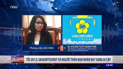 Tối nay 29/12, Saigontourist và người thân nạn nhân bay sang Ai Cập