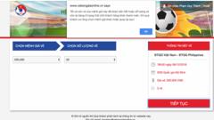Bán vé trận bán kết AFF Cup 2018 Việt Nam - Philippines: 5 phút hết hàng