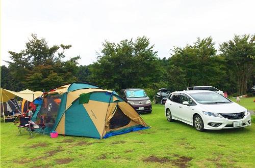 Auto camp tiện lợi khi bạn có thể đỗ và hạ trại ngaybên cạnh xecủa mình