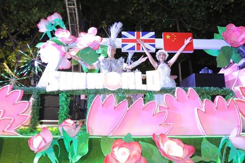 Carnival duong pho 'DIFF 2019' khuay dong khong gian pho dem Da Nang hinh anh 6