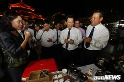 Anh, video: An thang co, thuong thuc cac san vat nui rung Ha Giang giua long Ha Noi hinh anh 4