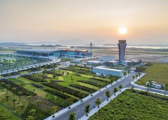 Sân bay Vân Đồn là sân bay đầu tiên tại Việt Nam được xây dựng và vận hành bởi tư nhân