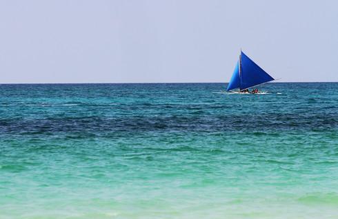 Đảo Boracay được nhiều người dân ở Philippines xem là một thiên đường biển /// Phạm Hữu