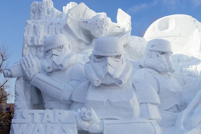 Đến Nhật vào tháng 2 du khách sẽ có cơ hội tham gia vào lễ hội tuyết tại Sapporo