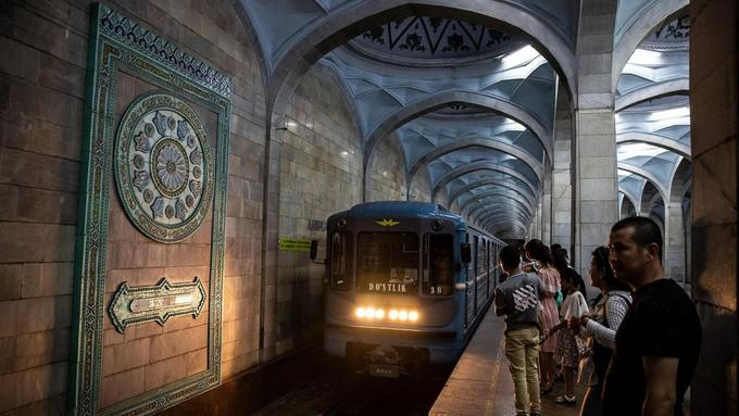Ga tàu điện ngầm hơn 40 năm bị cấm chụp ảnh
