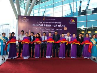Đường bay mới Phom Penh - Đà Nẵng kết nối hai trung tâm du lịch lớn. /// Nguyễn Tú