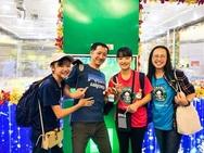 Chương trình Gift of Happiness góp phần giúp thời gian chờ đợi của hành khách tại sân bay bớt nhàm chán và thêm phần thú vị.