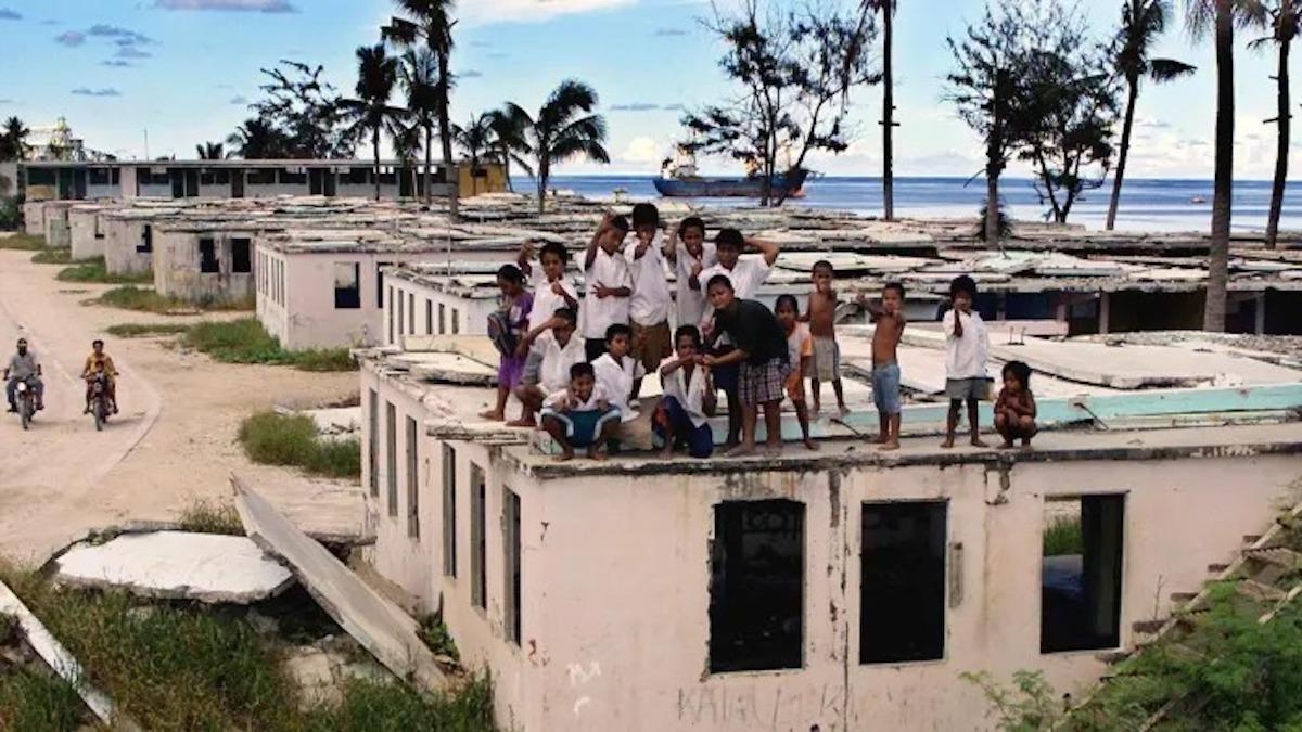 Nếu dịch bệnh bùng phát ở Nauru, những người nghèo sẽ không thể vượt qua. Ảnh:Financial Times.
