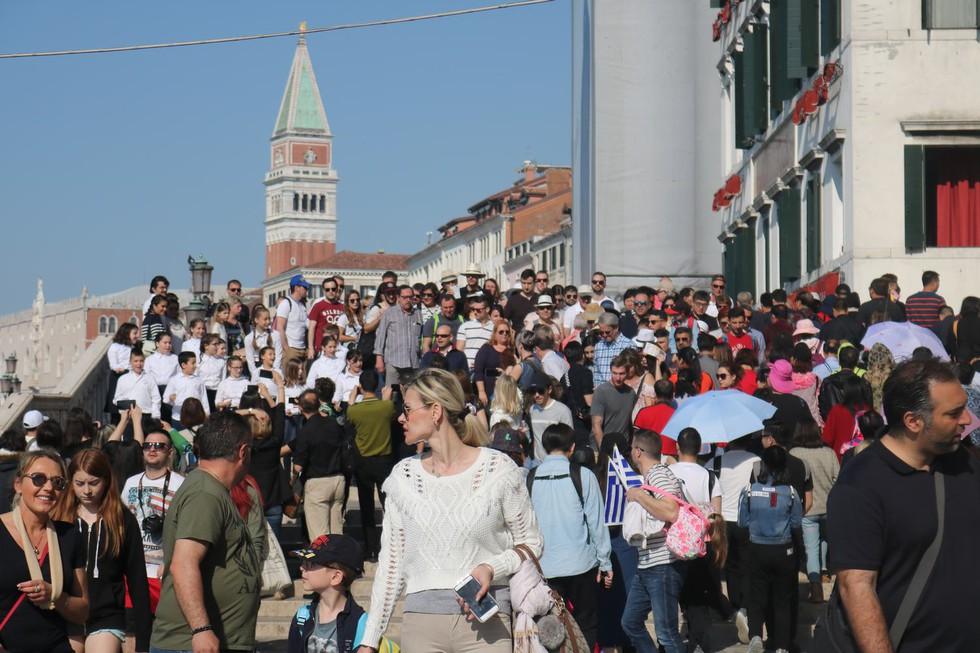 Venice tháng 6.2019 nhộn nhịp khách du lịch