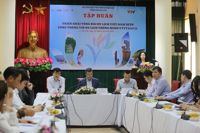 Tổng cục Du lịch tổ chức chương trình tập huấn nghiệp vụ triển khai Tổng đài du lịch Việt Nam 1039 - Ảnh 1.