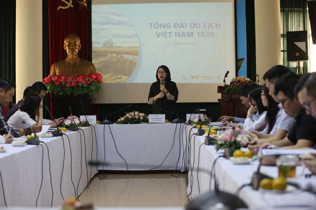 Tổng cục Du lịch tổ chức chương trình tập huấn nghiệp vụ triển khai Tổng đài du lịch Việt Nam 1039 - Ảnh 4.